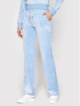 Juicy by Juicy Couture Juicy by Juicy Couture Jogginghose Del Ray JCAP180 Blau Regular Fit