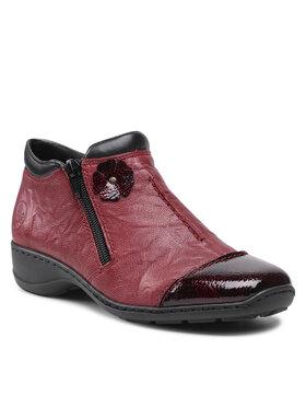Rieker Rieker Členková obuv 58388-35 Bordová