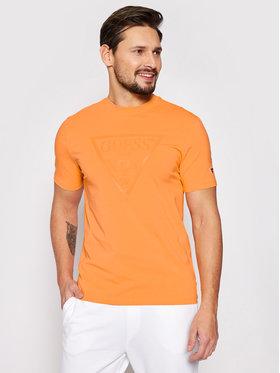 Guess Guess T-shirt U1GA06 J1311 Orange Regular Fit