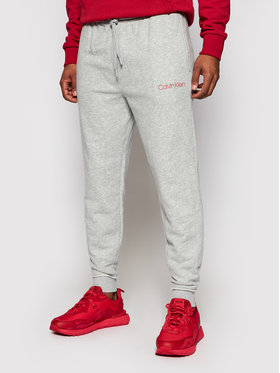 Calvin Klein Underwear Calvin Klein Underwear Teplákové kalhoty 000NM2167E Šedá Regular Fit