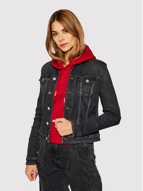 Tommy Jeans Tommy Jeans Farmer kabát Vivianne DW0DW09152 Szürke Regular Fit