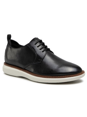 Clarks Clarks Pantofi Brantin Low 261557347 Negru