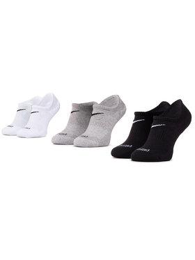 NIKE NIKE Σετ 3 ζευγάρια κάλτσες σοσόνια unisex SX7840 911 Λευκό
