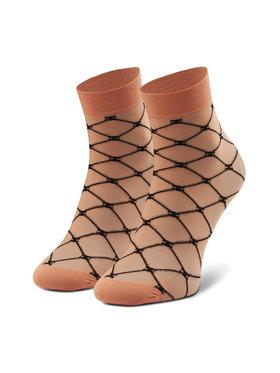 Elisabetta Franchi Elisabetta Franchi Dámské klasické ponožky CZ-05D-11E2-V30 Oranžová