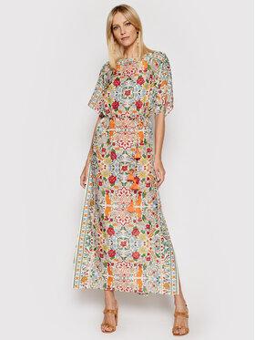 Tory Burch Tory Burch Sukienka letnia Printed 84549 Kolorowy Regular Fit