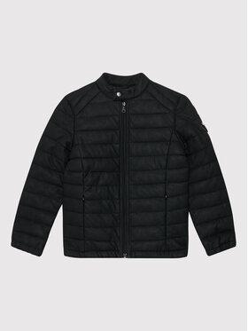 Guess Guess Jacke aus Kunstleder L1RL02 WDN70 Schwarz Regular Fit
