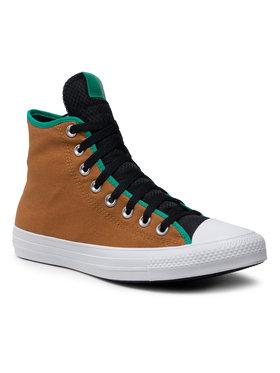 Converse Converse Sneakers aus Stoff Ctas Hi 170364C Grün