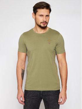 Aeronautica Militare Aeronautica Militare T-shirt 211TS1580J372 Zelena Regular Fit