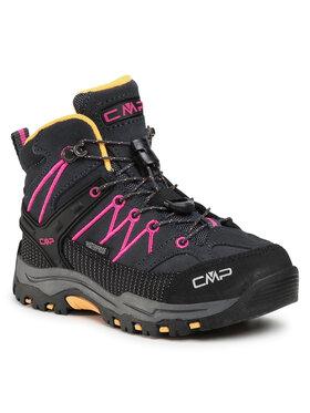 CMP CMP Chaussures de trekking Kids Rigel Mid Trekking Shoe Wp 3Q12944 Gris