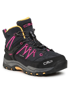 CMP CMP Trekingová obuv Kids Rigel Mid Trekking Shoe Wp 3Q12944 Sivá