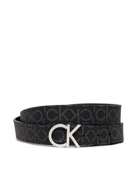 Calvin Klein Calvin Klein Pasek Damski Ck Mono Belt 3Cm K60K606446 Czarny