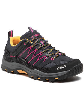 CMP CMP Trekkingi Kids Rigel Mid Trekking Shoe Wp 3Q54554J Szary