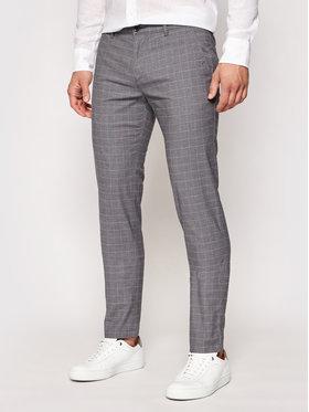 Roy Robson Roy Robson Текстилни панталони 941-51 Сив Slim Fit