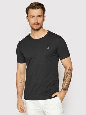 Marc O'Polo Marc O'Polo T-Shirt 122 2220 51350 Czarny Regular Fit