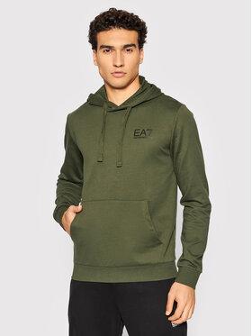 EA7 Emporio Armani EA7 Emporio Armani Bluza 8NPM18 PJ05Z 1852 Zielony Regular Fit