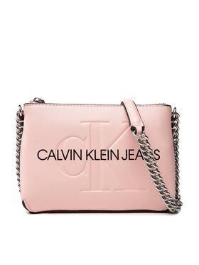 Calvin Klein Jeans Calvin Klein Jeans Torebka Sculpted Camera Pouch W/Cha Mono K60K608688 Różowy