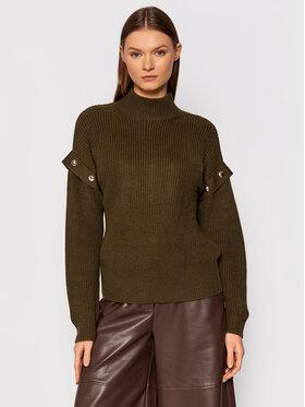 Liu Jo Liu Jo Sweater WF1330 MA51I Zöld Regular Fit