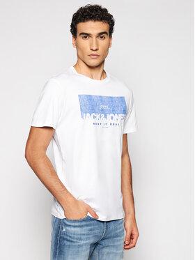 Jack&Jones Jack&Jones Marškinėliai Denim 12182577 Balta Regular Fit