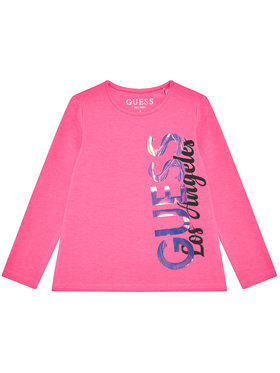 Guess Guess Blusa K1YI02 K6YW1 Rosa Regular Fit