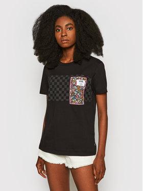 Vans Vans T-shirt Classic VN0A5FSE Noir Boyfriend Fit