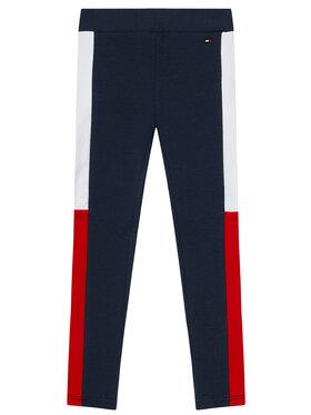 Tommy Hilfiger Tommy Hilfiger Leggings Colorblock KG0KG05770 M Blu scuro Regular Fit