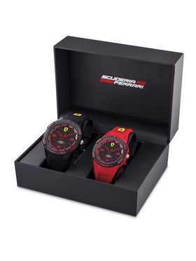 Scuderia Ferrari Scuderia Ferrari Hodinky Apex 0870044 Čierna
