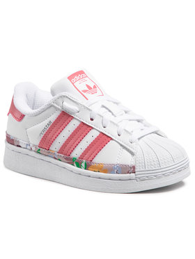 adidas adidas Обувки Superstar C FY5374 Бял
