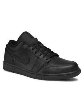 Nike Nike Topánky Air Jordan1Low 553558 091 Čierna