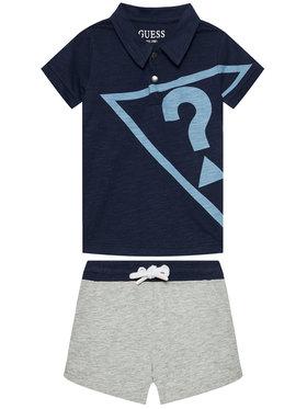 Guess Guess Set Polohemd und Shorts I1RG07 K6XN0 Dunkelblau Regular Fit