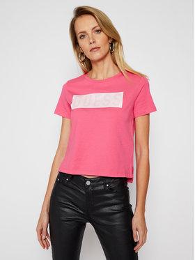 Guess Guess T-Shirt Adria Tee W1RI05 JA900 Rosa Regular Fit