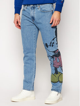 Levi's® Levi's® Tapered Fit Jeans DISNEY Mickey & Friends 502™ A0614-0000 Blau Tapered Fit