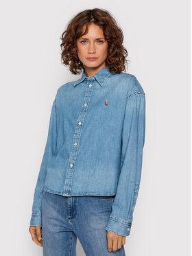 Polo Ralph Lauren Polo Ralph Lauren chemise en jean 211843863001 Bleu Relaxed Fit