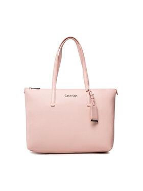Calvin Klein Calvin Klein Kabelka Ck Must Shopper Md K60K608283 Růžová