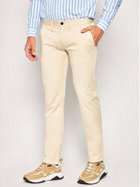 Emporio Armani Emporio Armani Spodnie materiałowe 3H1P20 1NEDZ 0128 Beżowy Slim Fit