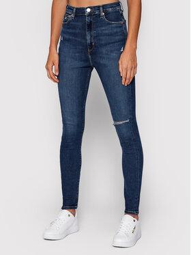 Tommy Jeans Tommy Jeans Džinsai Melany DW0DW10904 Tamsiai mėlyna Extra Slim Fit