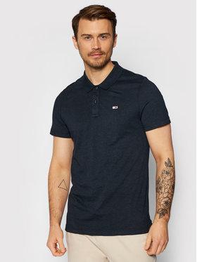 Tommy Jeans Tommy Jeans Тениска с яка и копчета Essential DM0DM10322 Черен Regular Fit