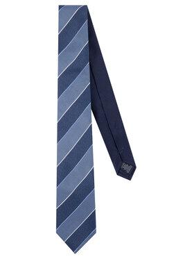 Tommy Hilfiger Tailored Tommy Hilfiger Tailored Krawatte Silk Stripe TT0TT06494 Dunkelblau