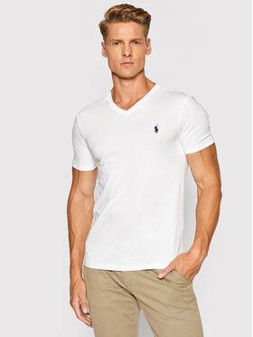 Polo Ralph Lauren Polo Ralph Lauren Тишърт 710671453008 Бял Slim Fit