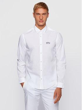 Boss Boss Риза Biado_R 50443686 Бял Regular Fit