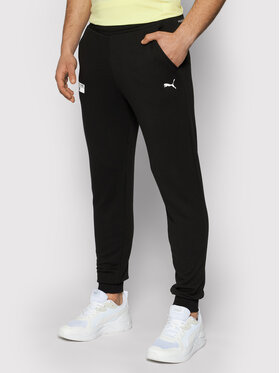 Puma Puma Pantaloni da tuta Base 599757 Nero Regular Fit