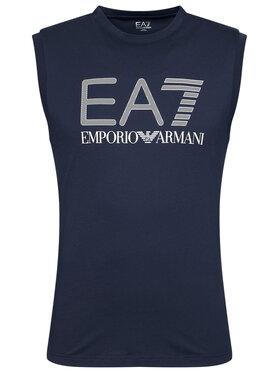 EA7 Emporio Armani EA7 Emporio Armani Tank top marškinėliai 3KPT80 PJ02Z 1554 Tamsiai mėlyna Regular Fit