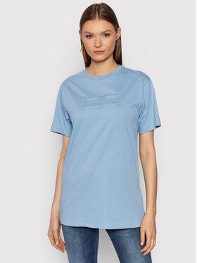 Elisabetta Franchi Elisabetta Franchi T-shirt MA-204-26E2-V140 Bleu Regular Fit
