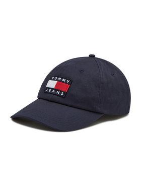 Tommy Jeans Tommy Jeans Czapka z daszkiem Heritage Cap AM0AM07168 Granatowy