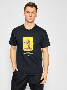 HUF HUF T-Shirt KILL BILL Bride TS01536 Czarny Regular Fit
