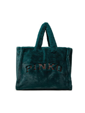 Pinko Pinko Torbica Tatuare Borsa AI 21-22 UNQS 1Q200G Y7NF Zelena