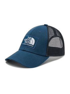 The North Face The North Face Kepurė su snapeliu Mudder Trucker Hat NF00CGW2BH71 Tamsiai mėlyna