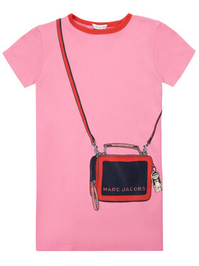 Little Marc Jacobs Little Marc Jacobs Každodenné šaty W12308 M Ružová Regular Fit