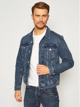 Calvin Klein Jeans Calvin Klein Jeans Giacca di jeans Foundation J30J316197 Blu scuro Slim Fit