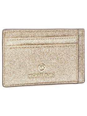 MICHAEL Michael Kors MICHAEL Michael Kors Kreditinių kortelių dėklas Jet Set Charm 34H0LT9D1K Auksinė