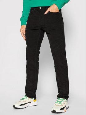 Levi's® Levi's® Spodnie materiałowe 511™ 14W Cord Mod 04511-5071 Czarny Slim Fit